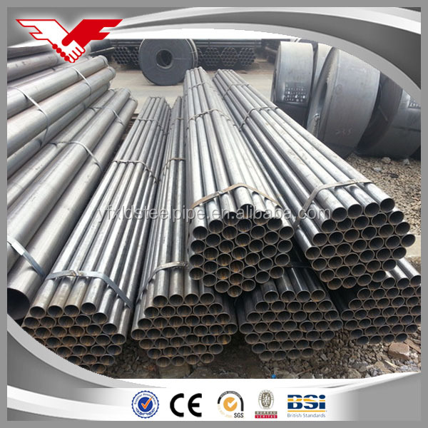 ERW schedule 40 galvanized steel pipe for water