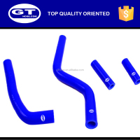 Motorcycle silicone hose kits for YAMAHA YZ125 SILICONE RADIATOR HOSE KIT 03-08