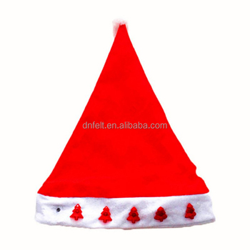 China supplier cheap price Christmas felt hat bodies for decorative