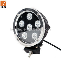 Motorcycle spare part round led work lights 60w cree led drive light