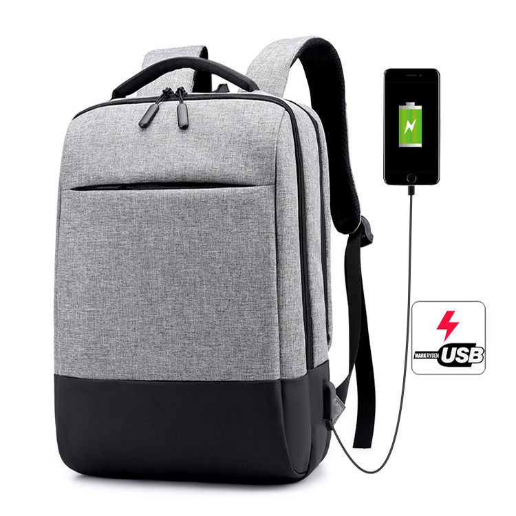 Waterproof College School Student back pack Bagpack Smart 15.6 inch Computer bags USB charging Laptop bags Backpack