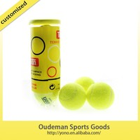 new green official cheap tennis ball for training match three pcs per tube wholesale factory price good quality