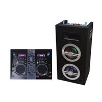 professional PA speaker /Portable PA speaker System with USB/BT and MIDI mixer