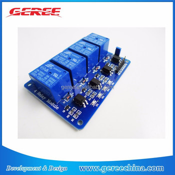 4-channel relay module 12V 4 Channel Relay interface board low level trigger