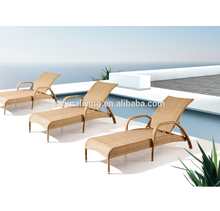 2017 outdoor used hotel pool plastic chaise lounge chairs rattan recliners