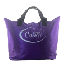 Best quality new arrival foldable nylon tote bag shopping bag