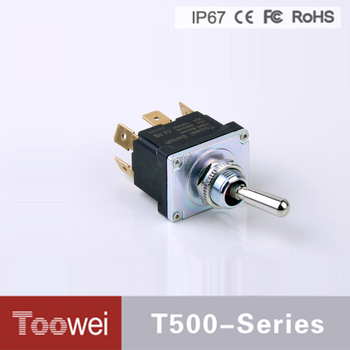 Toowei toggle switch T500 waterproof toggle switch