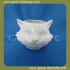 Cheap outdoor ceramic cat shaped flower pots & planter for garden