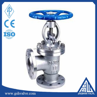 Manual Bellows Sealed Right Angle Globe Valve