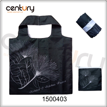 Reusable foldable shopping bag for nylon
