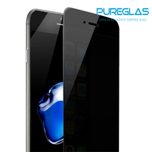 9H Anti-Spy Tempered Glass for iPhone 8 / 7 Privacy Screen Protector 2.5D Curve Edge Tempered Glass Easy Install