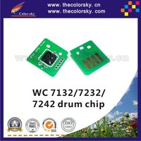 (TY-X7132D) drum imaging unit chip for Xerox WorkCentre wc 7132 7232 7242 wc7132 wc7232 wc7242 013R00636 CT350580 80k