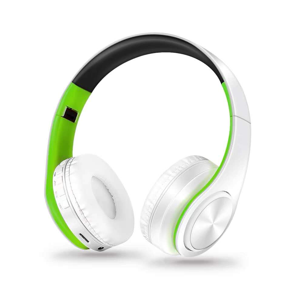 customized mp3 player stereo cheap promotion wireless headphone
