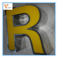 3D led channel letter/ stainless steel letter