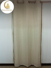 eyelet fully hem luxury polyester lined curtain for office room