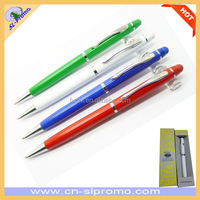 Cheap Promotional Metal Screen Touch Stylus Ballpen for iPhone/iPad/Tablets