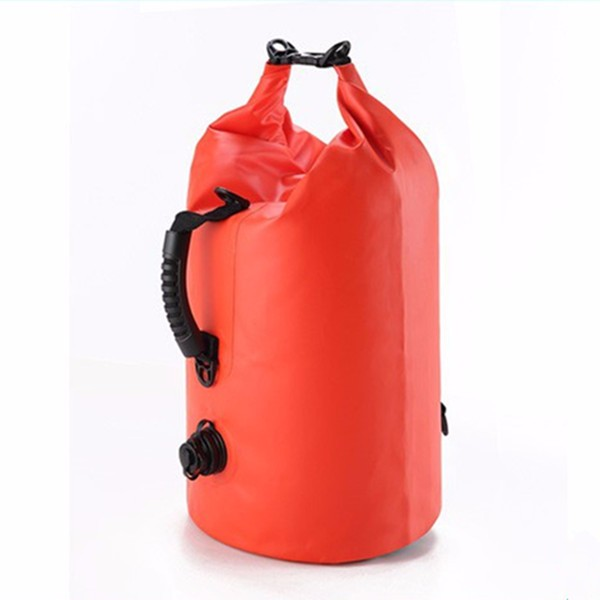 Factory custom Logo waterproof outdoor pvc small swimming tarpaulin 100l drybag 20l 30l dry bag backpack waterproof duffel bag