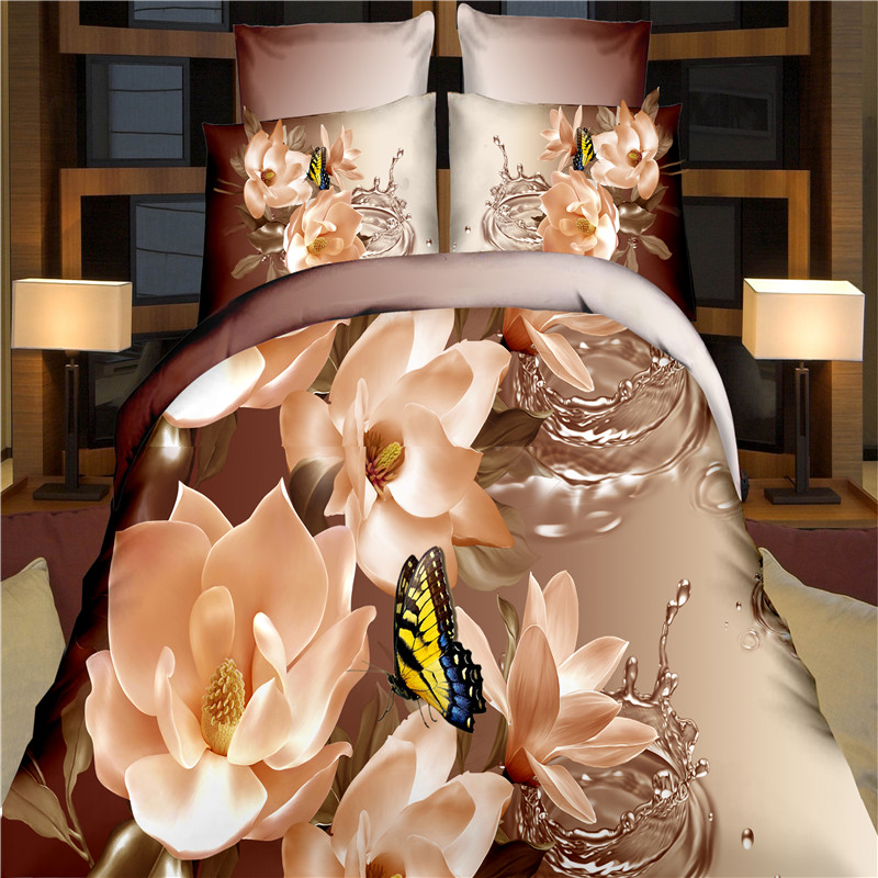 Home Textile 4PCS 3D Bedding Set Alibaba China Supplier