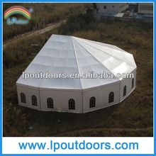 polygon tent round marquee for wedding party catering