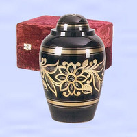 Hottest Funeral Supplies Urns Brass Cremation