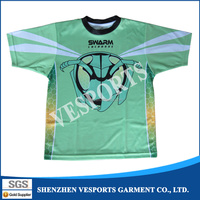 Make Your Own Full Sublimation dri fit Custom t shirt Printing With 100% Polyester