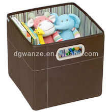 2012 Wholesale Folding Non Woven Toy Storage Box Organizer