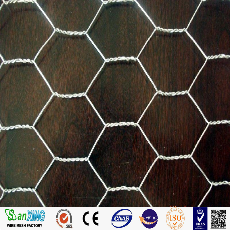 Poultry Coop Steel Weave Triple Twist Hexagonal Wire Mesh