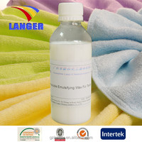 2015 hot products Water-soluble Emulsifying wax for textile