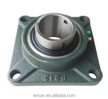 Cast iron pillow block and bearing unit, bearing housing