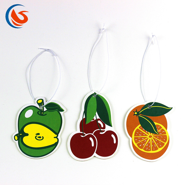 Eco Friendly Paper Car hanging Fragrance for Air Freshener