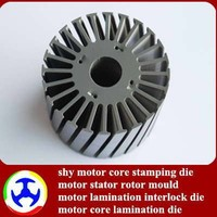 BLDC motor stator and rotor