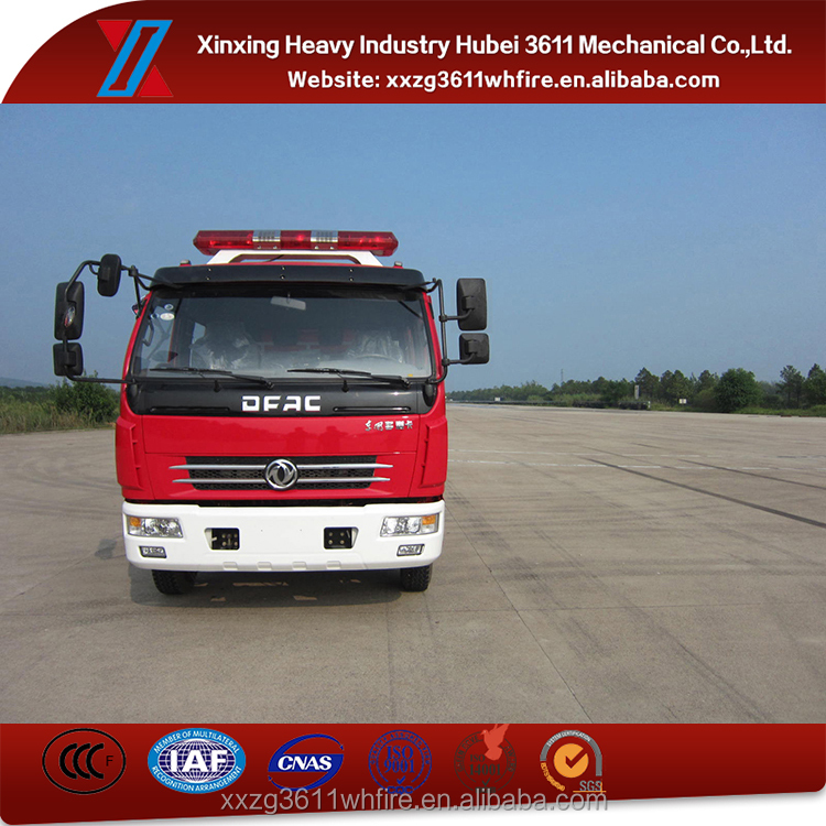 High Quality Factory Price Euro4 Foam Water Tank Fire Truck 4000 Liter