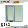 2017 new modern house design double glazed aluminum window with Australia standard