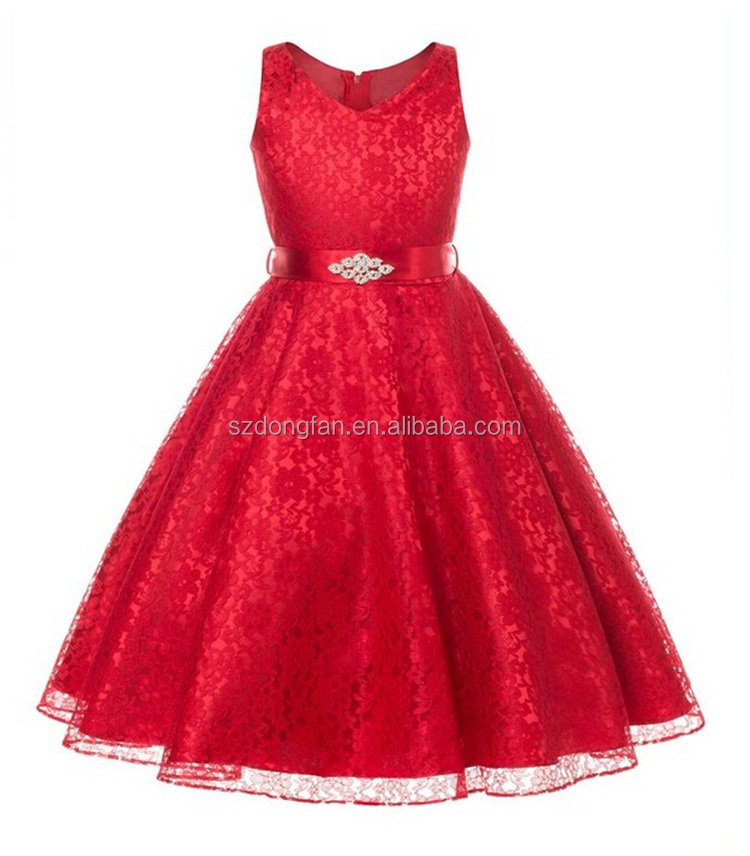 Childrens Christmas Party Dresses 47