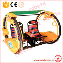 RBT 2 wheel electronic racing car game machine/amusement park cars for sale