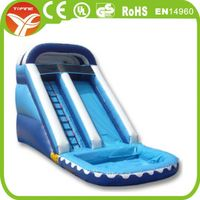 Commercial Grade Inflatable Plastic Dry Slide