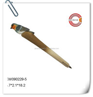 2015 novelty wooden bird ball pen