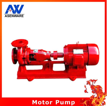 Asenware Fire Fighting Pump System Electric Motor Pump