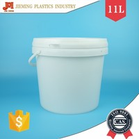 Plastic Packaging Container, 10L Paint Pail, Plastic Pail with Handles