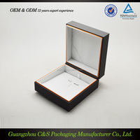 High end custom Plastic Packaging Necklace Jewelry box