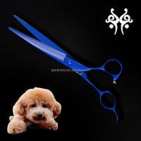 Titanium Coating Pet Grooming Scissors Shears Professional Animal Beauty Tools