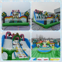 2016 Best seller in Middle East inflatable playground on sale