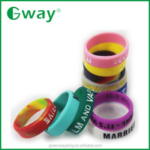Hottest selling decorative and protective silicone vape band rubber mod ring customized logo service OEM logo service vape band