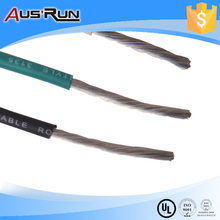 silver plated copper silicone rubber wire and cable factory