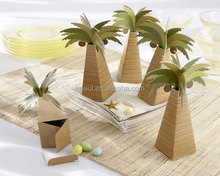 Palm Tree design Wedding gift box