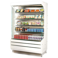 fruit vegetable MultiDeck Case Self-contained refrigerator Display Cabinet Of Supermarket with air curtain /