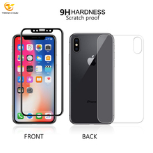 2018 Mobile Phone 2.5D 9H Hardness Tempered Glass Film For iPhone X Screen Protector