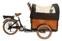 Upgrade cargo coffee bike steel frame tricycle to transport passenger
