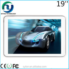 19 inch wall mounted touch tv monitor with WIFI