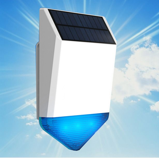 2016 new design Outdoor solar alarm siren alarm system
